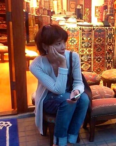 Tokyo: Turkish carpet shop