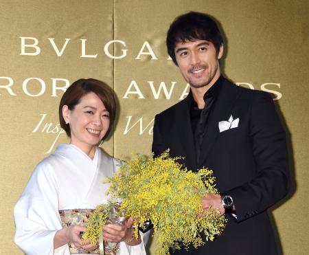 Bulgari Aurora Awards with Mr. Hiroshi Abe