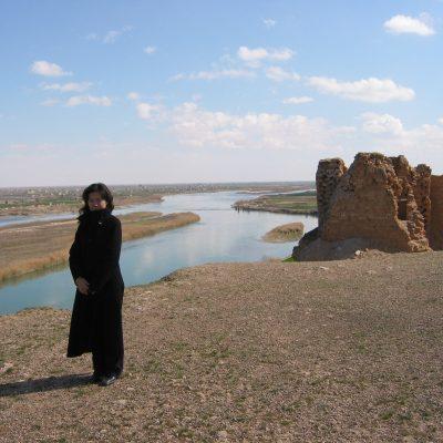 シリア ドゥラ・エウロポスとユーフラテス川