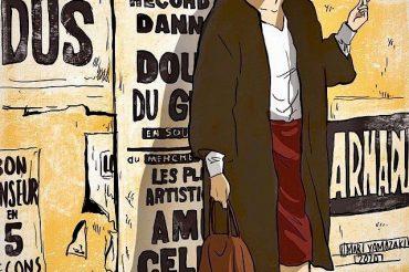 【アンスティチュ・フランセ関西】フランス語講座のパンフレットの表紙を描かせていただきました!