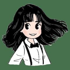 竹内まりやさんキャラ「まりやちゃん」(イラスト・ヤマザキマリ)のLINEスタンプが発売となりました!