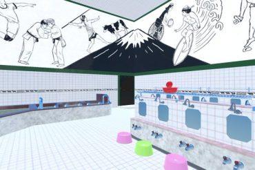 【BEAMS】8月14日(土)~バーチャルマーケット6に出店、バーチャル銭湯体験を世界へ!
